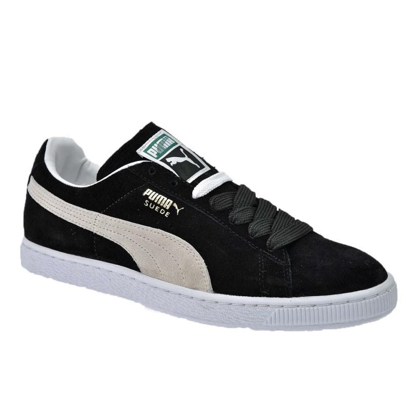 scarpe puma suede nere